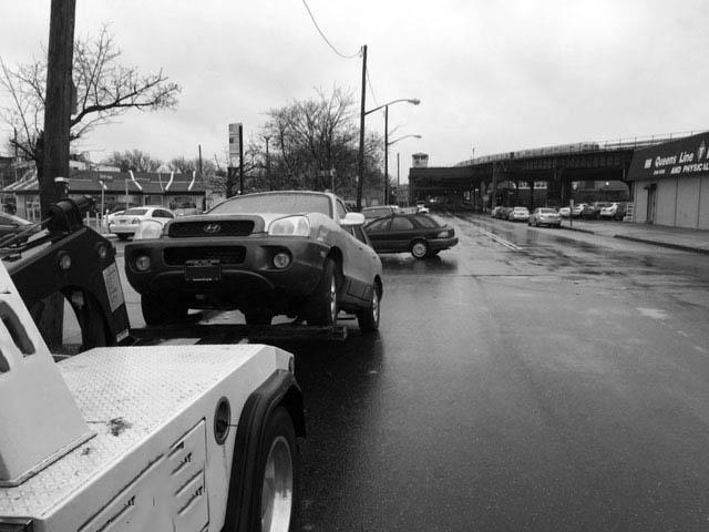 Blocked Driveway Towing